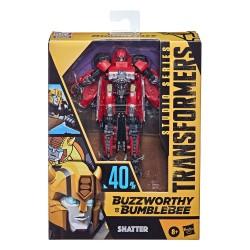 Transformers Buzzworthy Bumblebee Studio Series Deluxe Class Actionfigur Shatter (Transformers: Bumblebee) (11 cm)