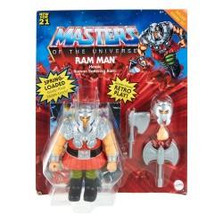 Masters of the Universe Origins Wave 3 Deluxe Actionfigur Ram-Man (14 cm)