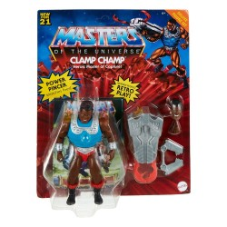 Masters of the Universe Origins Wave 3 Deluxe Actionfigur Clamp Champ (14 cm)