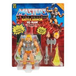 Masters of the Universe Origins Wave 3 Deluxe Actionfigur He-Man (14 cm)