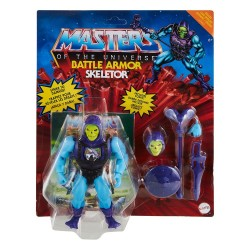 Masters of the Universe Origins Wave 3 Deluxe Actionfigur Skeletor (14 cm)