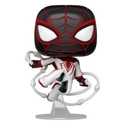 Marvel's Spider-Man POP! Games Vinyl Figur Miles Morales (Track Suit) (10 cm)
