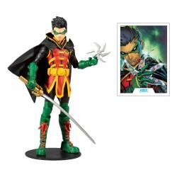DC Multiverse Actionfigur Damian Wayne: As Robin (18 cm)