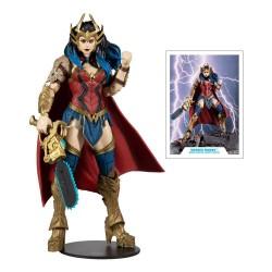 DC Multiverse Build A Actionfigur Wonder Woman (Death Metal) (18 cm)