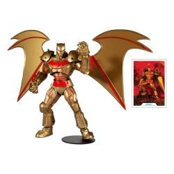 DC Multiverse Actionfigur Batman Hellbat Suit (Gold Edition) (18 cm)