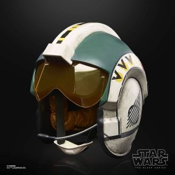 Star Wars Black Series Elektronischer Premium-Helm Wedge Antilles Battle Simulation Helmet
