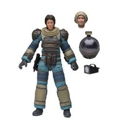 Neca Alien 40th Anniversary Serie 4 Actionfigur Lambert (Compression Suit) (18 cm)