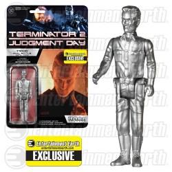 Terminator 2 ReAction Actionfigur T-1000 Metallic (EE-Exclusive) (10 cm)