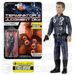 Terminator 2 ReAction Actionfigur T-1000 Final Battle (EE-Exclusive) (10 cm)
