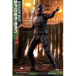 Marvel Spider-Man: Far From Home Movie Masterpiece Actionfigur 1/6 Spider-Man (Stealth Suit) (29 cm)