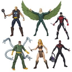 "Marvel Infinite Series Wave 02/2015 komplettes Set mit 6 Figuren 3.75"" (10 cm)"