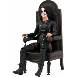 The Crow Select Deluxe Actionfigur Eric Draven in Chair (SDCC 2021 Exclusive) (18 cm)