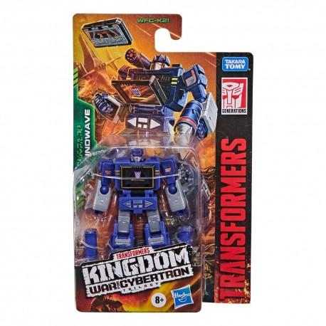 Transformers Generations War for Cybertron: Kingdom Wave 3 Core Class Soundwave (9 cm)