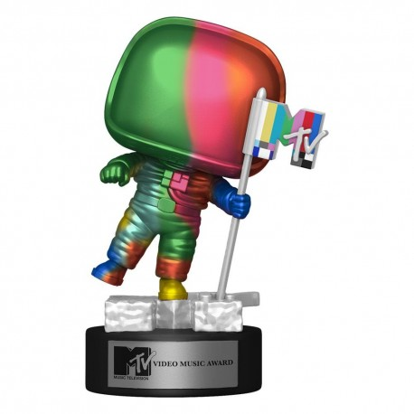 MTV POP! Icons Vinyl Figur Moon Person (MTV Video Music Award) (Rainbow) (10 cm)
