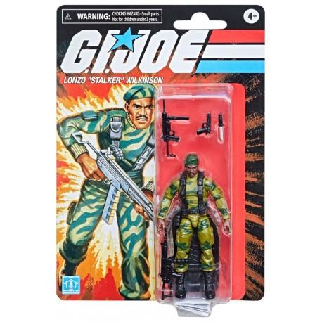 "G.I. Joe Retro Collection Wave 2 Actionfigur Lonzo ""Stalker"" Wilson (10 cm)"