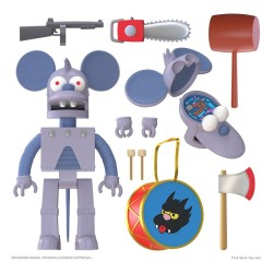 The Simpsons Ultimates Actionfigur Robot Itchy (18 cm)
