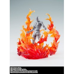 Tamashii Actionfiguren Effect Burning Flame Red Version (14 cm)