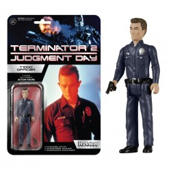 Terminator 2 ReAction Actionfigur T1000 Officer (10 cm)
