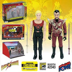 "Flash Gordon and Ming Hawk City Scene Set (EE Comic Con 2015 Exclusive Box-Set mit 2 Figuren 3.75"" (10 cm)"