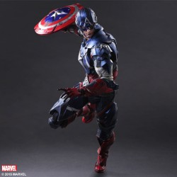 Play Arts Kai Marvel Comics Variant Actionfigur Captain America (27 cm)