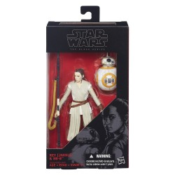"Star Wars Black Series Episode VII Rey (Jakku) & BB-8 6"" (15 cm) (Version 1)"