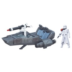 Star Wars Episode 7 Class II Fahrzeug 2015 First Order Snowspeeder + First Order Snowtrooper Officer (Episode VII)