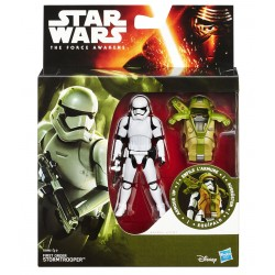 Star Wars Armor Up Actionfigur First Order Stormtrooper (Episode VII) (10 cm)