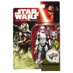 Star Wars Jungle/Space Wave 1 Actionfigur Captain Phasma (Episode VII) (10 cm)