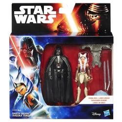 Star Wars Doppelpack Wave 1 Actionfiguren Darth Vader / Ahsoka Tano (Rebels) (10 cm)