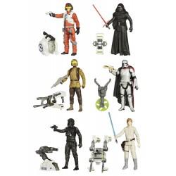 Star Wars Jungle/Space Actionfiguren komplette Wave 1 mit 6 Figuren (10 cm)