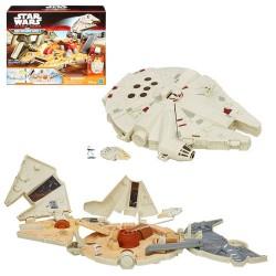 Star Wars Episode VII Micro Machines Millennium Falcon Playset