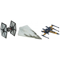 Star Wars VII Micro Machines 3-Pack Wave 1 2015 'The First Order Attacks'