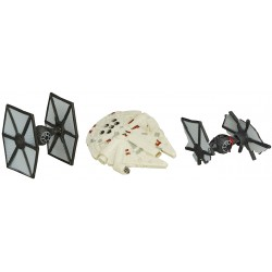Star Wars Micro Machines 3-Pack Wave 1 2015 'First Order TIE Fighter Attack'