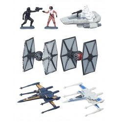 Star Wars VII Micro Machines Multipack Wave 1 2015 'Galactic Showdown'