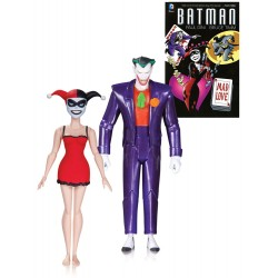 Batman The Animated Series Actionfiguren Doppelpack 'Mad Love (2nd Edition)' mit The Joker & Harley Quinn  (15 cm)