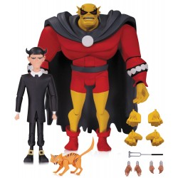 Batman The Animated Series Actionfiguren Doppelpack Etrigan with Klarion  (15 cm)