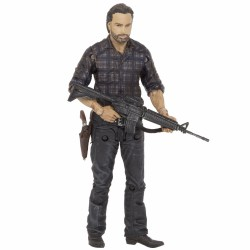 The Walking Dead TV-Version Serie 7.5 Woodbury Assault Rick Grimes (13 cm)