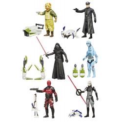 Star Wars Jungle/Space Actionfiguren komplette Wave 2 mit 6 Figuren (10 cm)