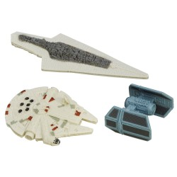 Star Wars Micro Machines 3-Pack Wave 2 2015 'Space Escape'