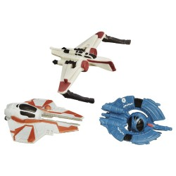 Star Wars Micro Machines 3-Pack Wave 2 2015 'Clone Fighter Strike'