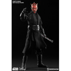 Star Wars Sideshow Collectibles 1/6 Actionfigur Darth Maul 'Duell auf Naboo' (30 cm)
