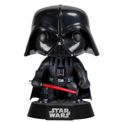 Star Wars Funko POP! Vinyl Wackelkopf-Figur Darth Vader (10 cm)