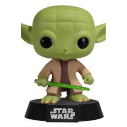 Star Wars Funko POP! Vinyl Wackelkopf-Figur Yoda (10 cm)