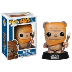 Star Wars Funko POP! Vinyl Wackelkopf-Figur Wicket (10 cm)