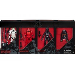 "Star Wars Black Series Imperial Forces EE-Exclusive Multipack 6"" (15 cm) (leicht Beschädigte Verpackung, für Auspacker)"