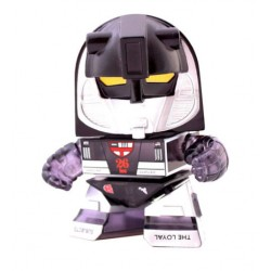 Transformers Loyal Subjects Vinyl Actionfigur Transparent Black Mirage (8 cm)