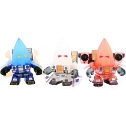 Transformers Loyal Subjects Vinyl Actionfiguren 3-Pack Ghost Seekers (SDCC 2014 Exclusive) (8 cm)