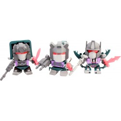 Transformers Loyal Subjects Vinyl Actionfiguren 3-Pack Dinobots Shattered Glass (SDCC 2014 Exclusive) (8 cm)