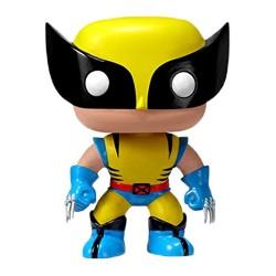 Marvel Comics Funko POP! Vinyl Wackelkopf-Figur Wolverine (10 cm)