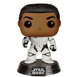 Star Wars Episode VII Funko POP! Vinyl Wackelkopf-Figur Stormtrooper Finn with Blaster (10 cm)